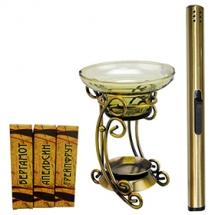 Набор для ароматерапии Aroma Royal Systems AR307L (аромалампа, свечи, аромамасла, поджигатель свеч)
