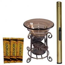 Набор для ароматерапии Aroma Royal Systems AR321L (аромалампа, свечи, аромамасла, поджигатель свеч)